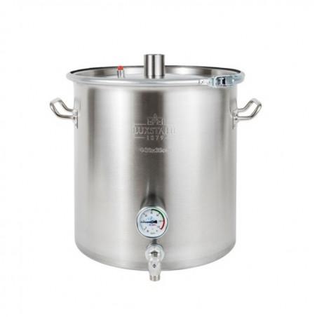 Перегонный куб Люкссталь (Luxstahl) Абсолют 50 литров (2 дюйма) с краном и усиленной крышкой