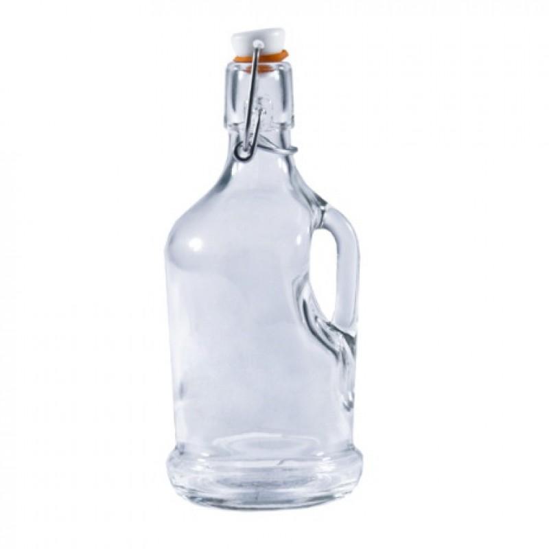 Бутылка «Сифон» 0,5 литра с механической крышкой и ручкой