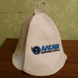 Фирменная шапка для бани АЛКАШ