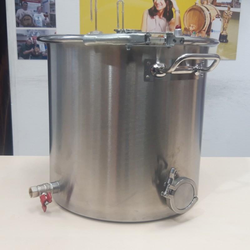 Перегонный куб АЛКАШ 37 литров кламп 2 под ТЭН