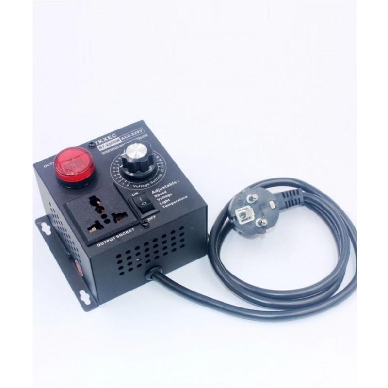Регулятор напряжения с цифровым дисплеем 4 кВт