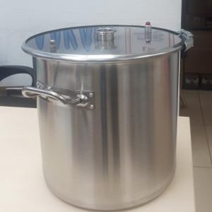 Перегонный куб АЛКАШ 37 литров кламп 2