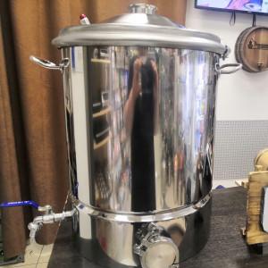 Перегонный куб АЛКАШ 35 литров кламп 2 дюйма с зиговкой и фальшном
