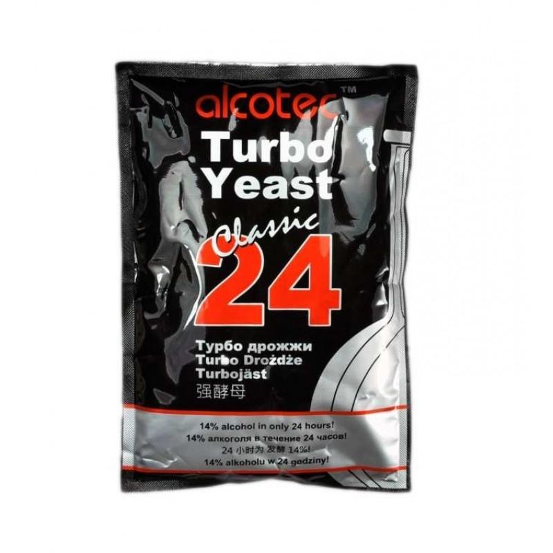 Дрожжи спиртовые Alcotec 24 Turbo Yeast (175 гр)