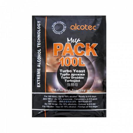 Дрожжи спиртовые Alcotec Megapack 100L (360 гр)