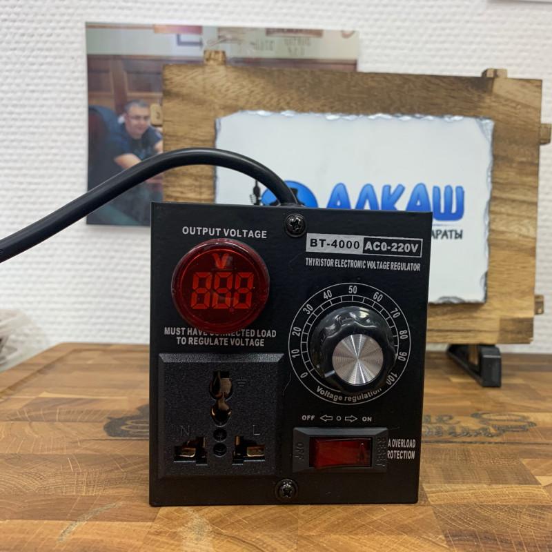 Регулятор напряжения АЛКАШ BT-4000W с индикатором