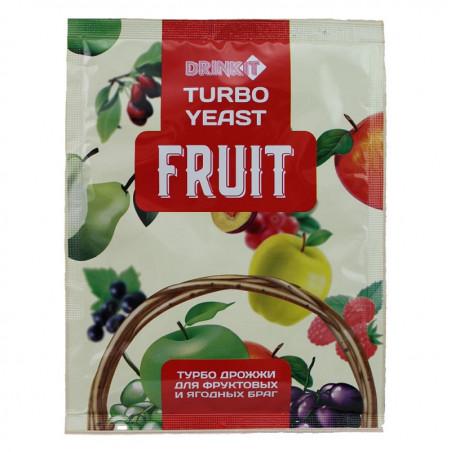 Турбо дрожжи для фруктовых и ягодных браг DRINKIT FRUIT