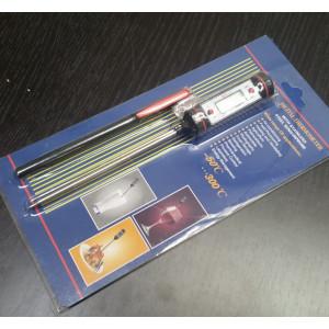 Термометр цифровой электронный ТЕ-118 с щупом (-50-300 градусов)