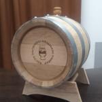 Дубовая бочка АЛКАШ 10 литров (кавказский дуб)