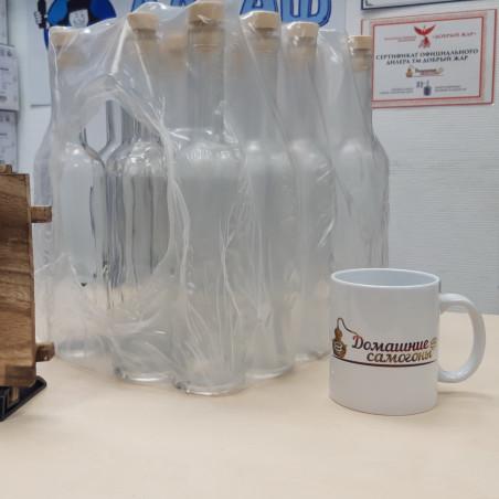 Набор бутылок Оригинальная 0,7 л. с пробками (12 шт)