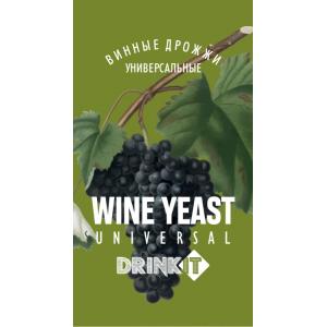 Drinkit Дрожжи винные Universal 10гр