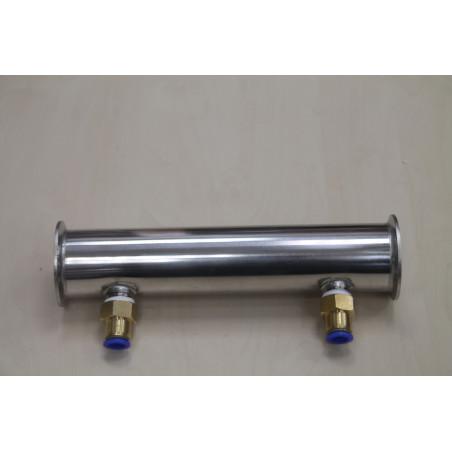 Дефлегматор Алкаш под кламп 2 дюйма (7 трубок) для самогонного аппарата