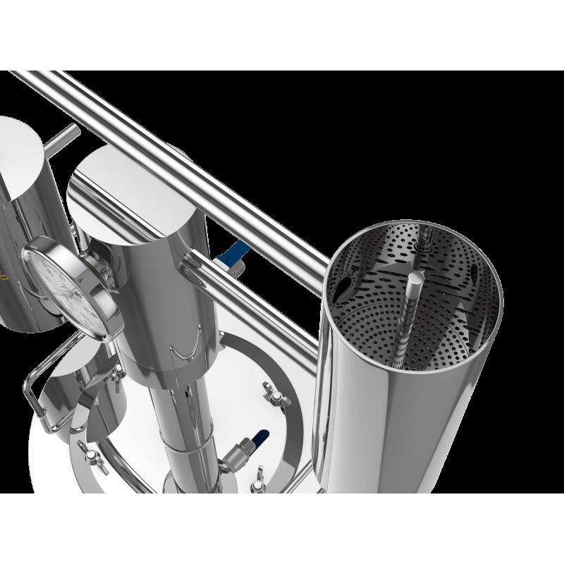Купить самогонный аппарат Добрый Жар Триумф  (дистиллятор): 12, 15, 20, 30, 40, 50 литров