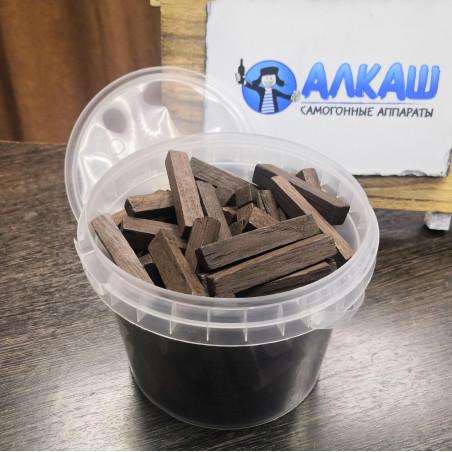 Дубовые брусочки (средний обжиг), 400 грамм