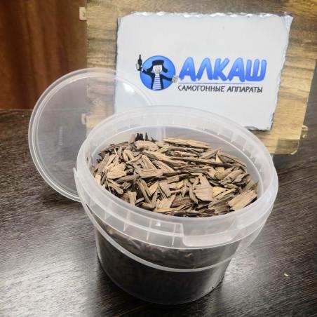 Дубовые чипсы для настаивания самогона (средний обжиг), 400 грамм