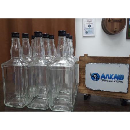 Набор бутылок ВИСКИ 1 л с пробками (9 шт)