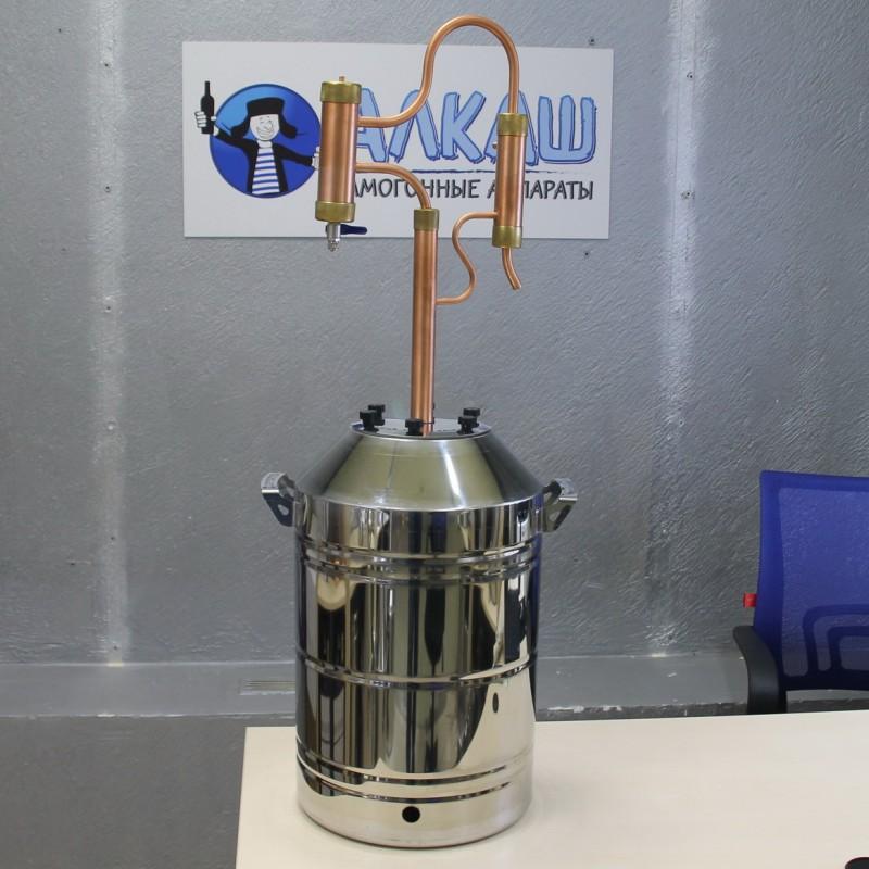 Медный самогонный аппарат Сuprum Steel GALAXY