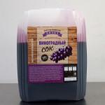 Сок виноградный красный концентрированный Фруктовая бочка 5 кг.