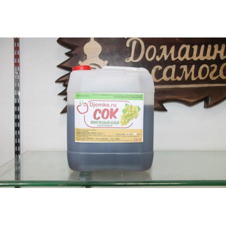 Сок виноградный белый концентрированный Djemka 5 кг.