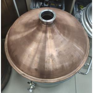 Крышка купольная медная на куб 50 л(2 дюйма) Б.У.