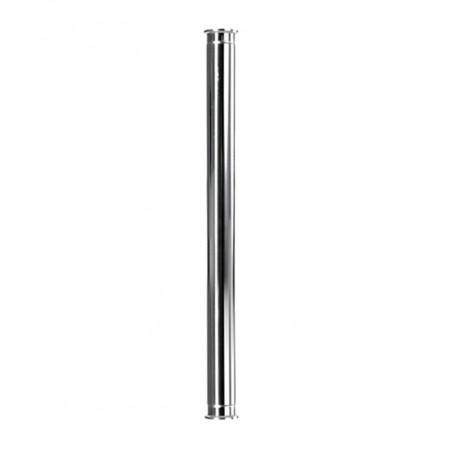 Царга 75 см (пустая) Алкаш под 1.5 дюйма (38 мм) для самогонного аппарата
