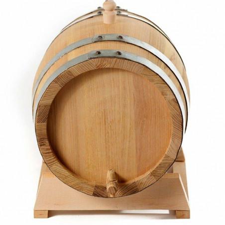 Бочка дубовая 5 л на подставке с краном (Сербия) (Oak)