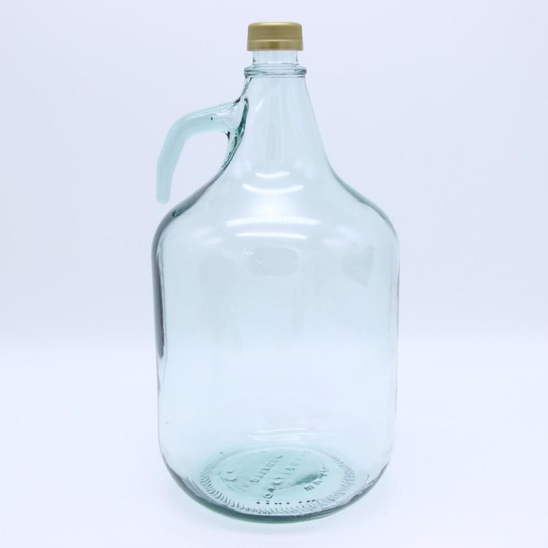 Бутыль Дама для вина 5 л с завинчивающейся пробкой без корзины