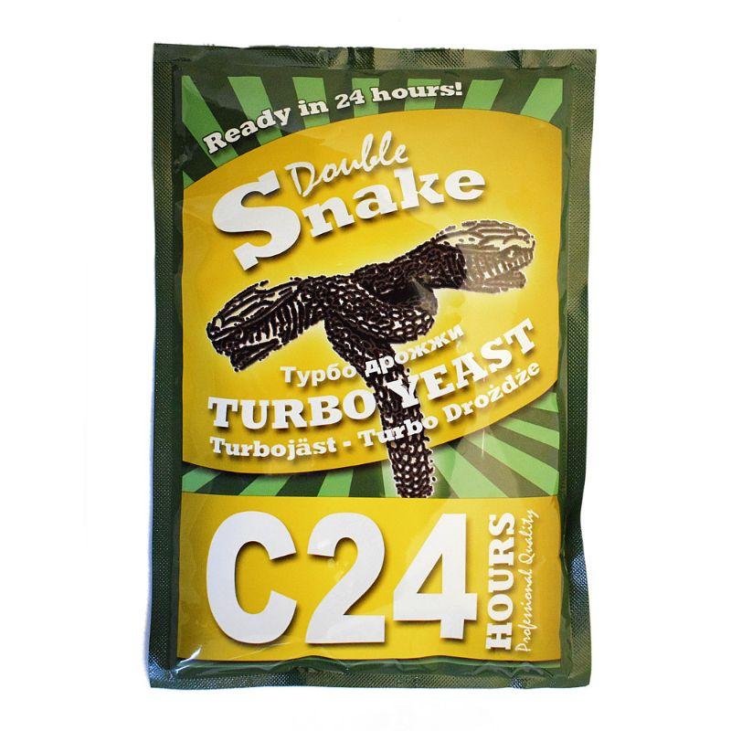 Дрожжи спиртовые DoubleSnake C24 (175 гр)