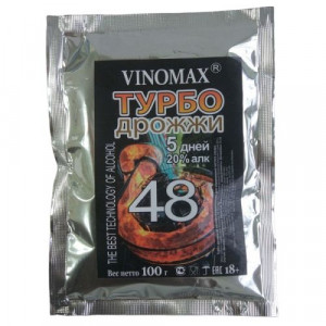 Турбо дрожжи VINOMAX 48