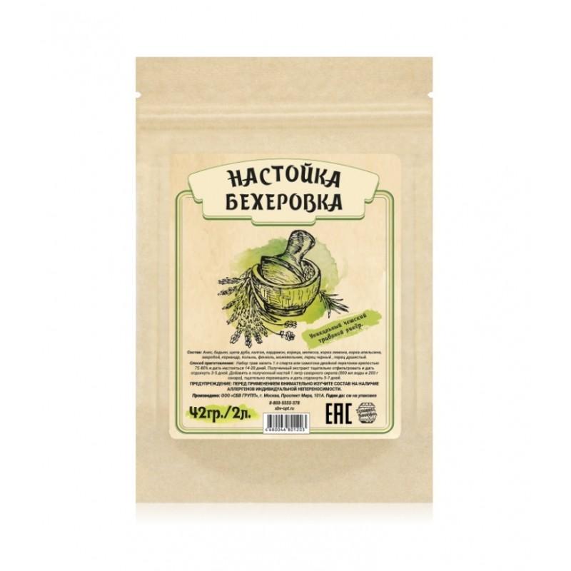 Настойка Домашняя винокурня «Бехеровка», 42 гр