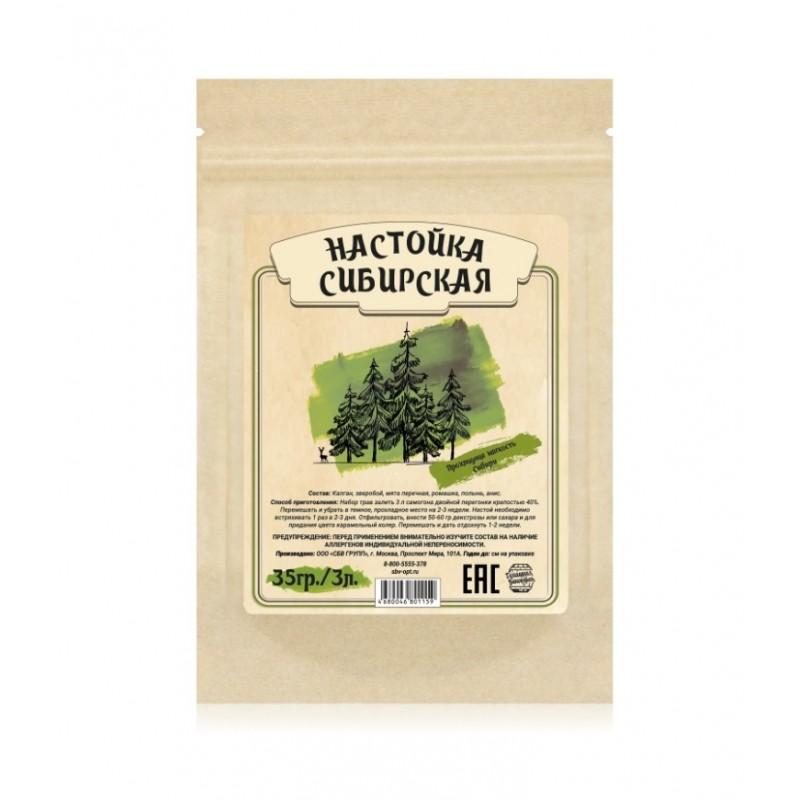Настойка Домашняя винокурня «Сибирская», 50 гр
