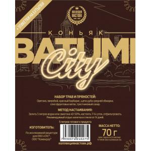 """Настойка """"Коллекция настоек"""" Коньяк Batumi city"""
