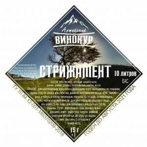 """Настойка """"Алтайский винокур"""" Стрижамент. Набор трав и пряностей"""