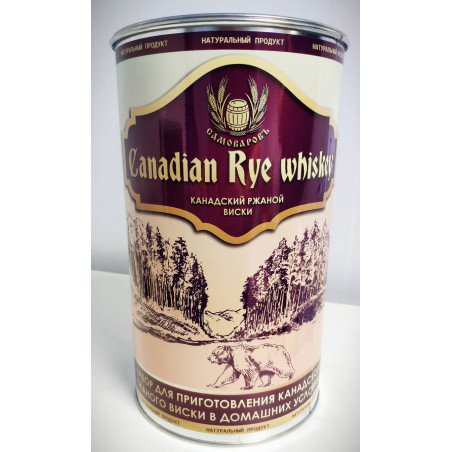 Канадский ржаной виски (Самоваровъ)