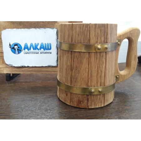 Кружка деревянная 0,7 литра