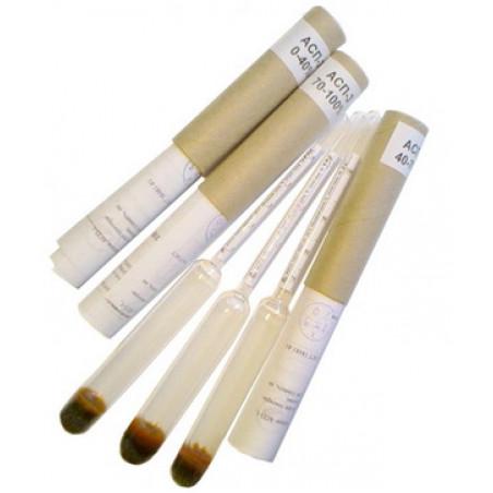Набор ареометров АСП-3 (3 штуки) спиртовых (0-40, 40-70, 70-100) ГОСТ 18481-81