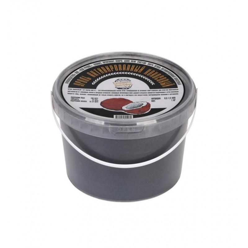 Уголь кокосовый активированный марки КАУ-А 1 кг