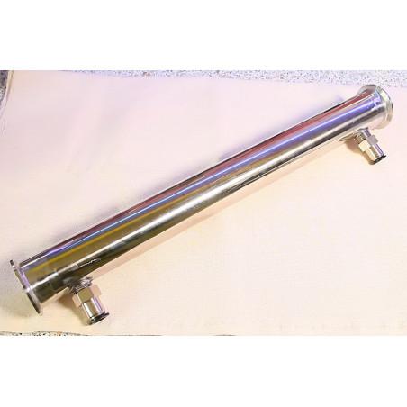 Холодильник (охладитель) трубчатый (7 трубок) с перегородками и быстросъемами (2 дюйма)