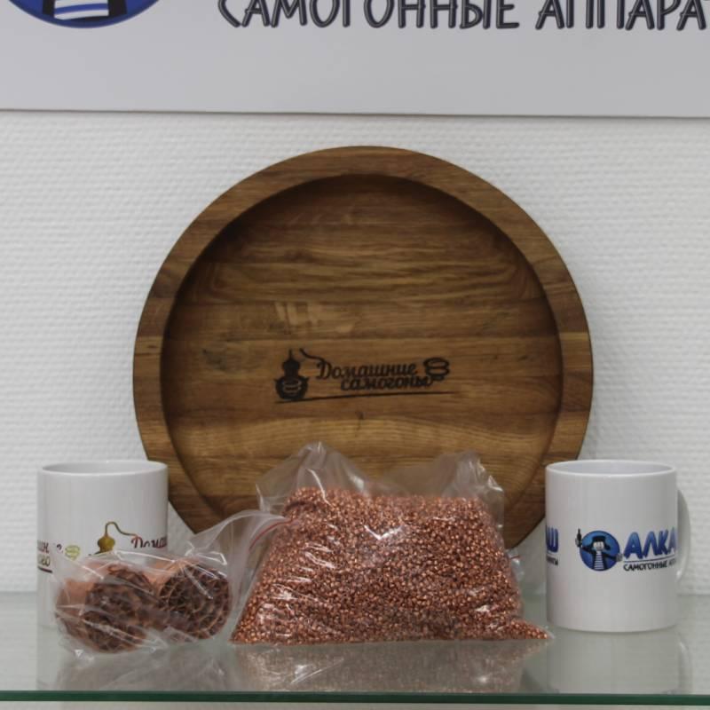 Набор СПН Селиваненко 3x3 мм с опорными элементами 1.5 дюйма для царги 500 мм (медь)
