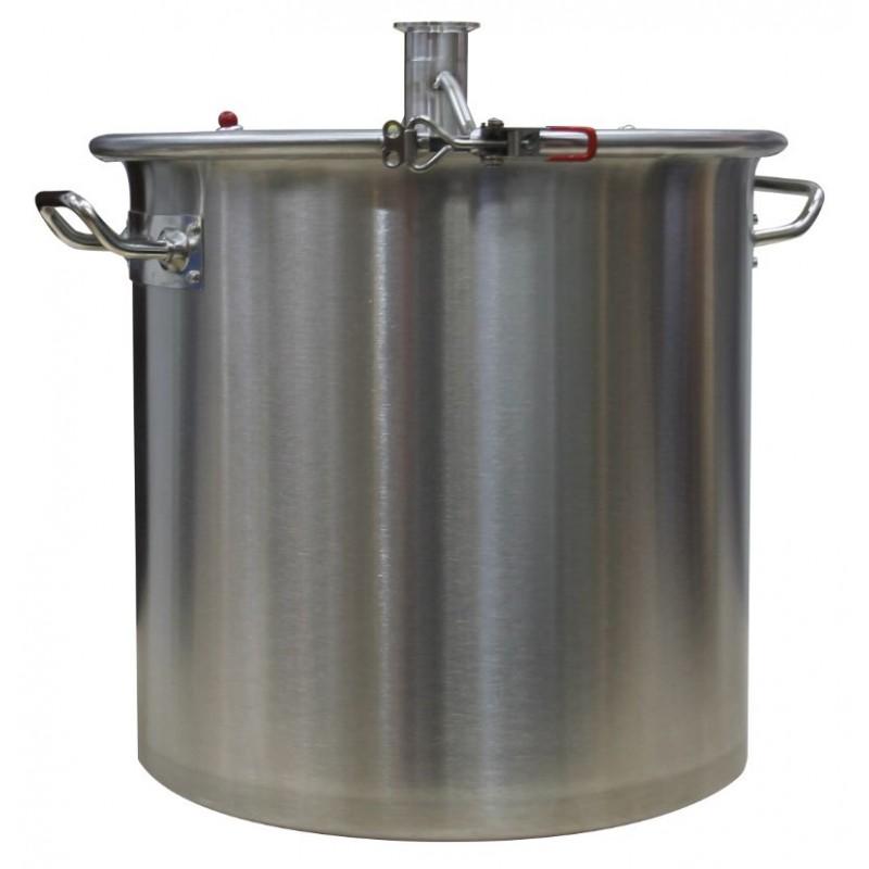 Перегонный куб АЛКАШ 25 литров кламп 1,5