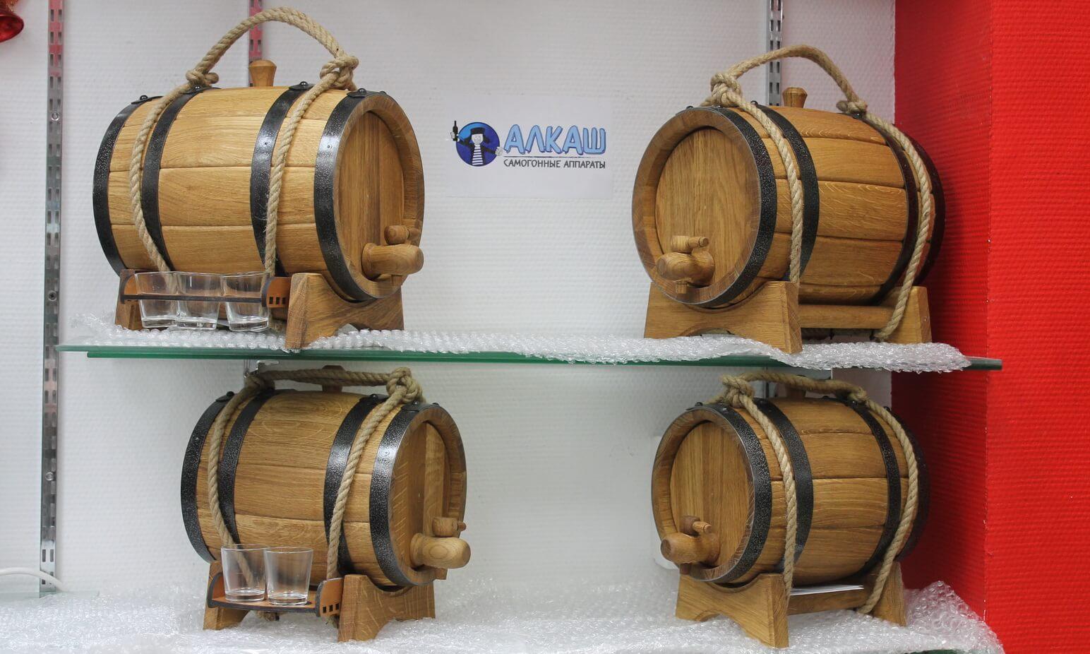 Купить дубовые бочки на 10 литров в Москве